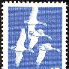 Sellos: FRANCOBOLLO - CANADA - CANADA GOOSE (BRANTA CANADENSIS) - 15 C - 1963 - USATO. Lote 236582875