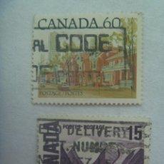 Sellos: LOTE DE 2 SELLOS DE CANADA. Lote 237066485
