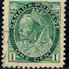 Sellos: CANADA // YVERT 63 // 1898-03 ... USADO. Lote 237142980