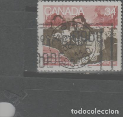 LOTE (14) SELLO CANADA (Sellos - Extranjero - América - Canadá)