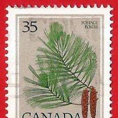 Sellos: CANADA. 1979. HOJA DE PINO. Lote 241272210