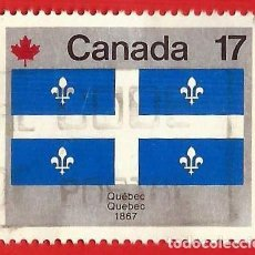 Sellos: CANADA. 1979. BANDERA DE QUEBEC. Lote 241272460