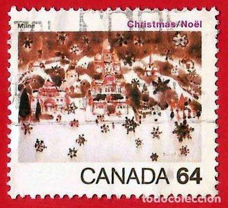CANADA. 1984. NAVIDAD. NIEVE EN BELEN (Sellos - Extranjero - América - Canadá)