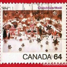 Sellos: CANADA. 1984. NAVIDAD. NIEVE EN BELEN. Lote 241273440