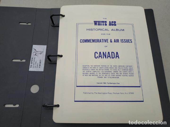 COLECCION DE SELLOS DE CANADA. CON HOJAS DESDE 1897 A 1984. VER FOTOS Y DESCRIPCION.. (Sellos - Extranjero - América - Canadá)