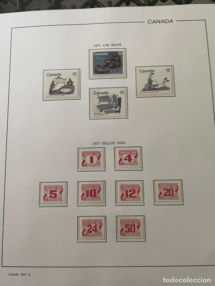 Sellos: Colección sellos Canadá 1977 a 1988. Completa a falta 2 sellos - Foto 5 - 248659855