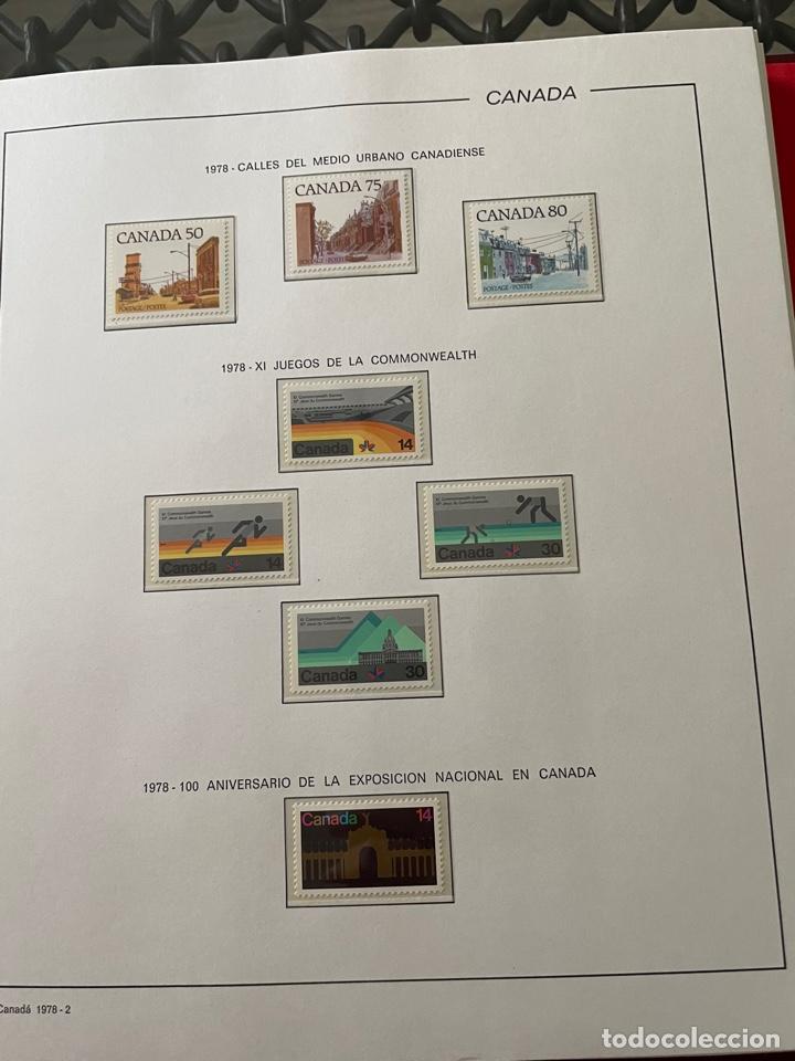Sellos: Colección sellos Canadá 1977 a 1988. Completa a falta 2 sellos - Foto 8 - 248659855