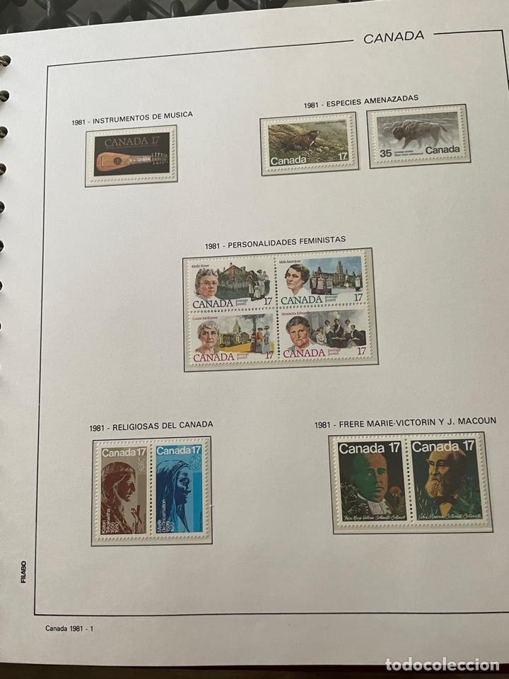 Sellos: Colección sellos Canadá 1977 a 1988. Completa a falta 2 sellos - Foto 20 - 248659855