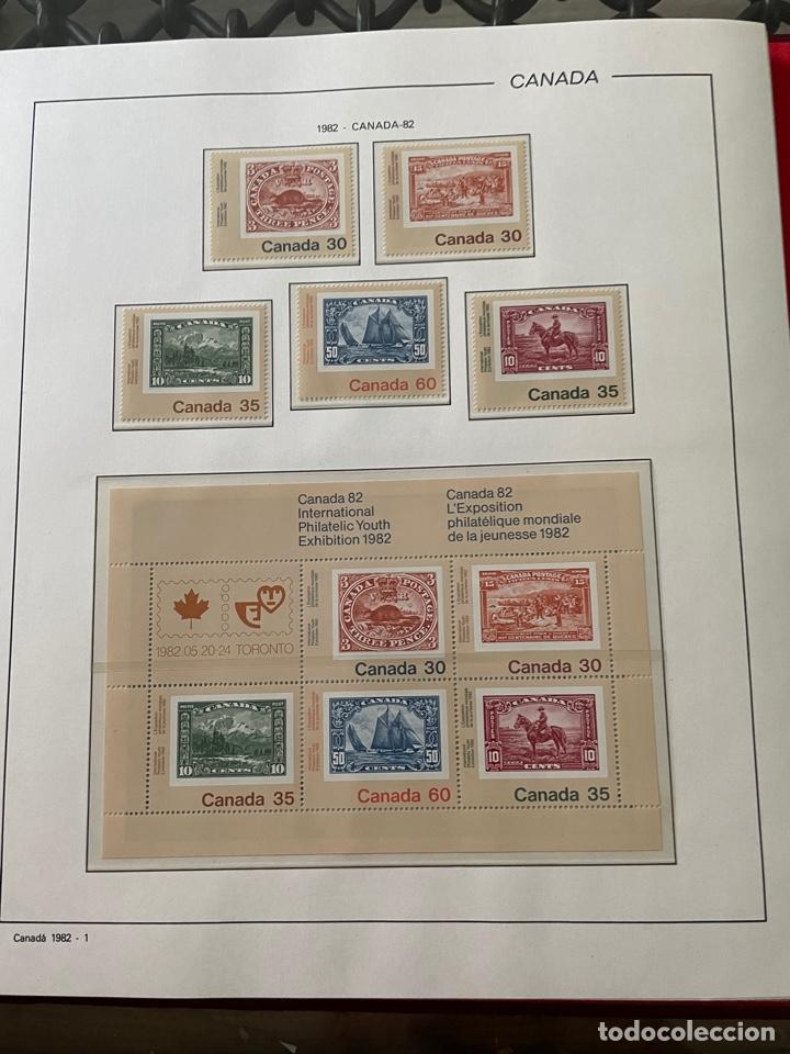 Sellos: Colección sellos Canadá 1977 a 1988. Completa a falta 2 sellos - Foto 24 - 248659855