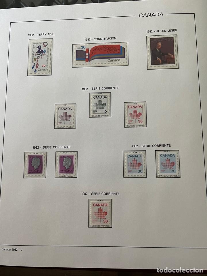 Sellos: Colección sellos Canadá 1977 a 1988. Completa a falta 2 sellos - Foto 25 - 248659855