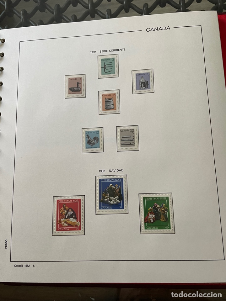 Sellos: Colección sellos Canadá 1977 a 1988. Completa a falta 2 sellos - Foto 28 - 248659855
