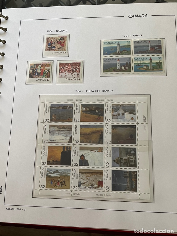 Sellos: Colección sellos Canadá 1977 a 1988. Completa a falta 2 sellos - Foto 36 - 248659855