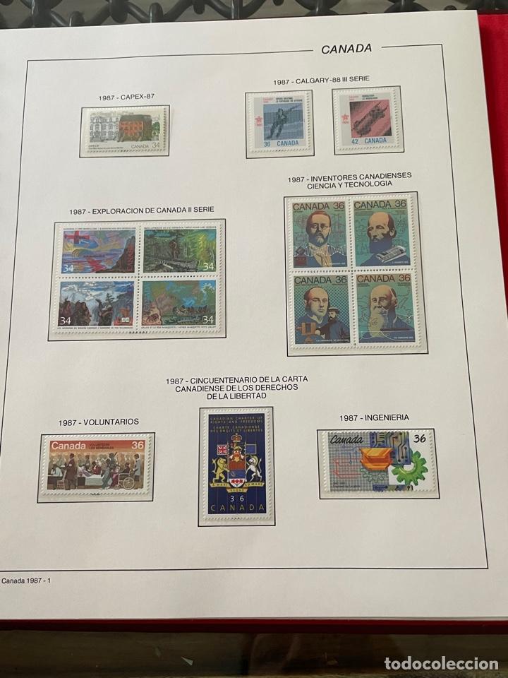 Sellos: Colección sellos Canadá 1977 a 1988. Completa a falta 2 sellos - Foto 47 - 248659855