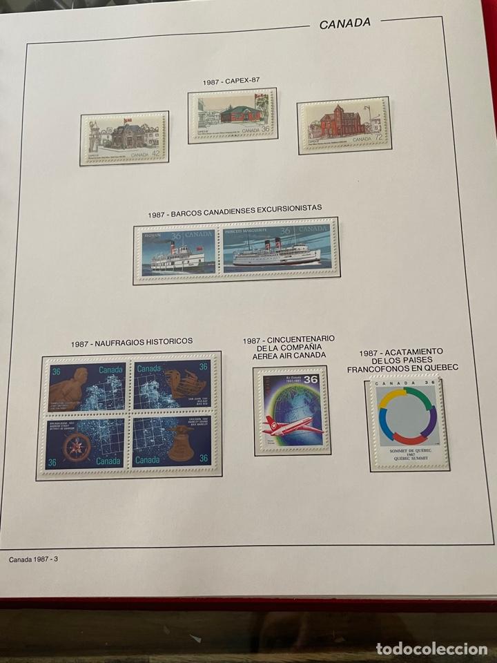 Sellos: Colección sellos Canadá 1977 a 1988. Completa a falta 2 sellos - Foto 48 - 248659855