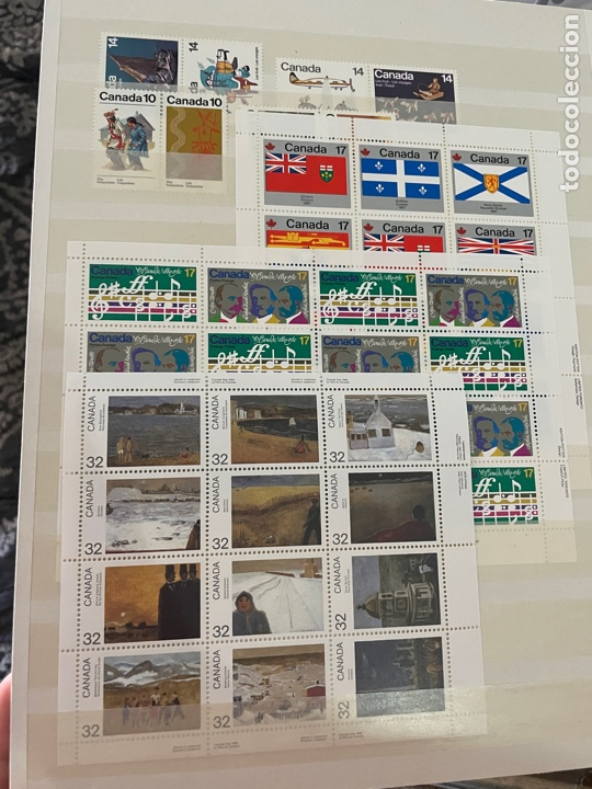 Sellos: Colección sellos Canadá 1977 a 1988. Completa a falta 2 sellos - Foto 55 - 248659855