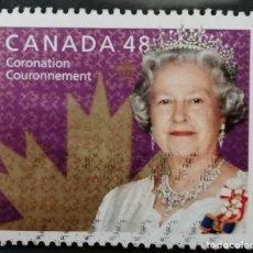 Sellos: 2003. CANADA . 50 ANIV , CORONACION ISABEL II. * MH( 21-245). Lote 252097610