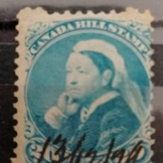 Sellos: CANADA, REINA ISABEL,BILL STAMPS. CANCELADO A MANO. 20Ç.1899. *.MH ( 21-313). Lote 252791575