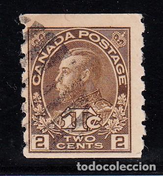 CANADÁ 106B USADA, (Sellos - Extranjero - América - Canadá)