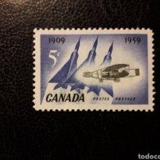 Sellos: CANADÁ YVERT 310 SERIE COMPLETA NUEVA *** 1959 AVIONES. AVIACIÓN PEDIDO MÍNIMO 3 €. Lote 260595725