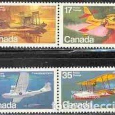 Sellos: SELLOS USADOS DE CANADA 1979, YT 721/ 24. Lote 263596305