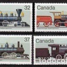Sellos: SELLOS USADOS DE CANADA 1984, YT 895/ 98. Lote 263733615