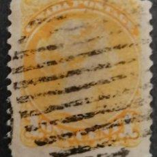 "Sellos: 1870 -1894 . CANADA. REINA VICTORIA. (1 ONE CENT ) ."" AMARILLO ANARANJADO "" #11B, .PERF: 12 . *.MH. Lote 264024795"