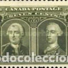 Sellos: SELLO USADO DE CANADA 1908, YT 89. Lote 265198614