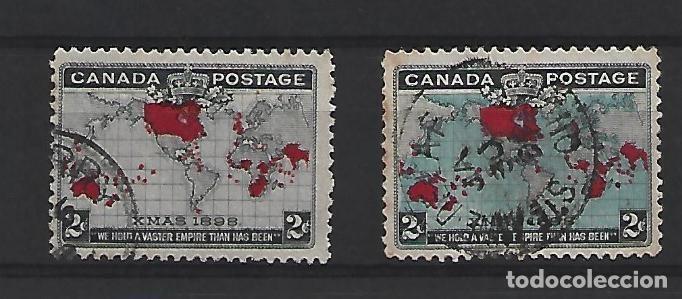 CANADA (Sellos - Extranjero - América - Canadá)