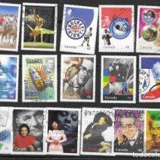 Sellos: SELLOS USADOS DE CANADA 1999, YT 1705/ 20, FOTO ORIGINAL. Lote 270632148