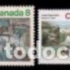 Sellos: SELLOS USADOS DE CANADA 1974, YT 550/ 53. Lote 270644808