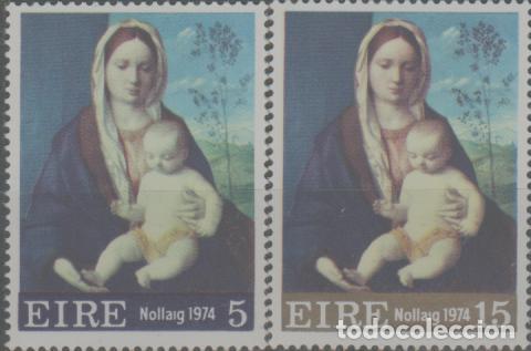 LOTE Z2 SELLOS IRLANDA NUEVOS SERIE (Sellos - Extranjero - América - Canadá)