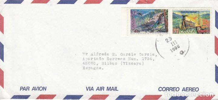 CORREO AEREO: CANADA 1988 (Sellos - Extranjero - América - Canadá)