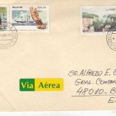 Sellos: CORREO AEREO: BRASIL 1985. Lote 277044868
