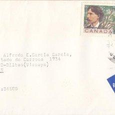 Sellos: CORREO AEREO: CANADA 1989. Lote 277152453