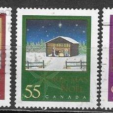 Francobolli: SELLOS USADOS DE CANADA 1994, YT 1780/ 82, FOTO ORIGINAL. Lote 277252668