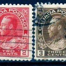 Sellos: GIROEXLIBRIS.- CANADÁ.- 1903 EDUARDO VII - PEQUEÑO LOTE DE CONJUNTO.... SELLOS USADOS -. Lote 278330863