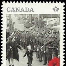 Sellos: SELLO USADO DE CANADA 2014, YT 3082. Lote 278364023