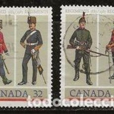 Sellos: SELLOS USADOS DE CANADA 1983, YT 865/ 66. Lote 278590578