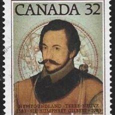 Sellos: SELLO USADO DE CANADA 1983, YT 853. Lote 278590733