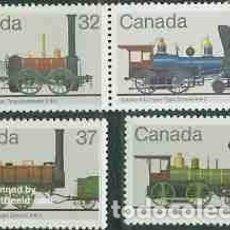 Sellos: SELLOS USADOS DE CANADA 1983, YT 857/ 60. Lote 278591203