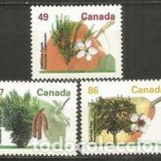 Sellos: SELLOS USADOS DE CANADA 1992, YT 1293/ 95. Lote 278592348