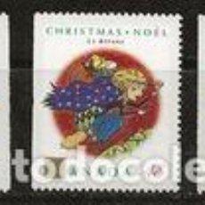 Sellos: SELLOS USADOS DE CANADA 1992, YT 1289/ 91. Lote 278592623