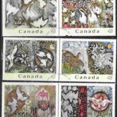 Sellos: SELLOS USADOS DE CANADA 2003, YT 2030/ 35, FOTO ORIGINAL. Lote 279357808