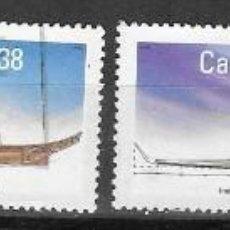 Sellos: SELLOS USADOS DE CANADA 1989, YT 1086/ 89, FOTO ORIGINAL. Lote 279358103