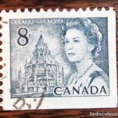 Sellos: SELLO USADO DE CANADÁ - CENTENARIO DE CANADÁ. Lote 286564753