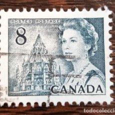 Sellos: SELLO USADO DE CANADÁ - CENTENARIO DE CANADÁ. Lote 286564788