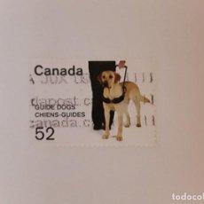 Selos: CANADA SELLO USADO. Lote 288153848