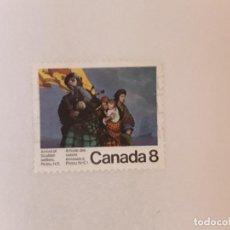 Timbres: CANADA SELLO USADO. Lote 288448478