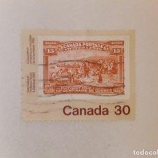 Timbres: CANADA SELLO USADO. Lote 288448693