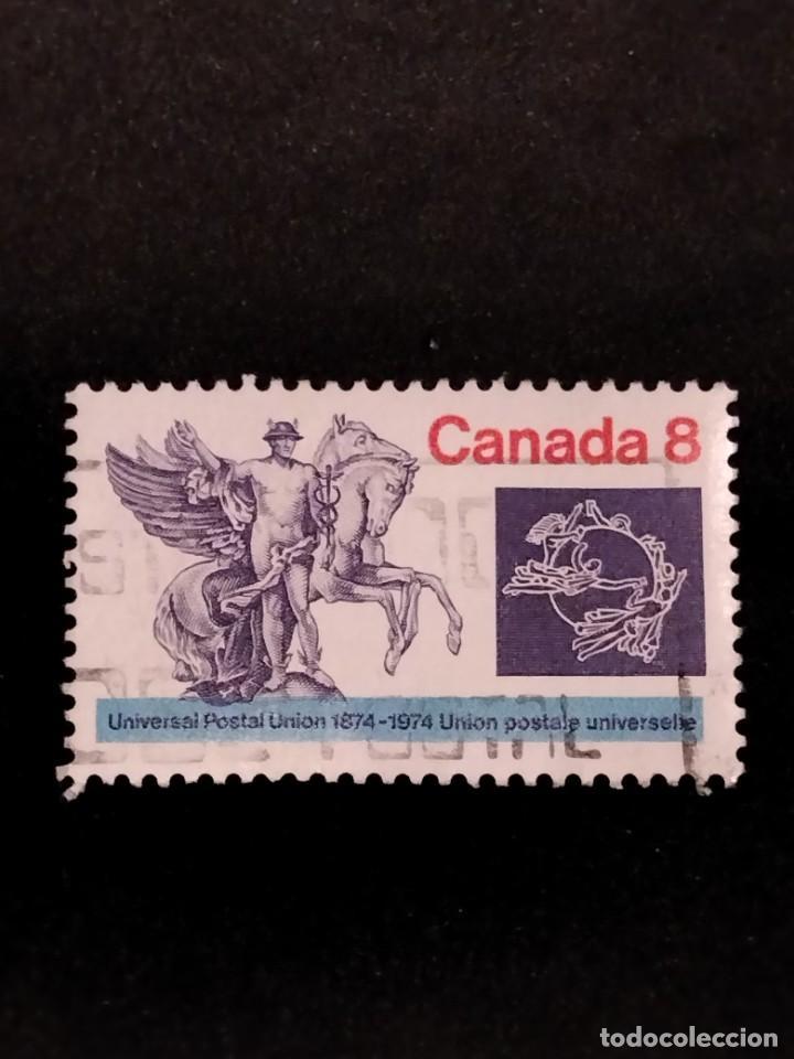 SELLO DE CANADÁ - U 62 (Sellos - Extranjero - América - Canadá)